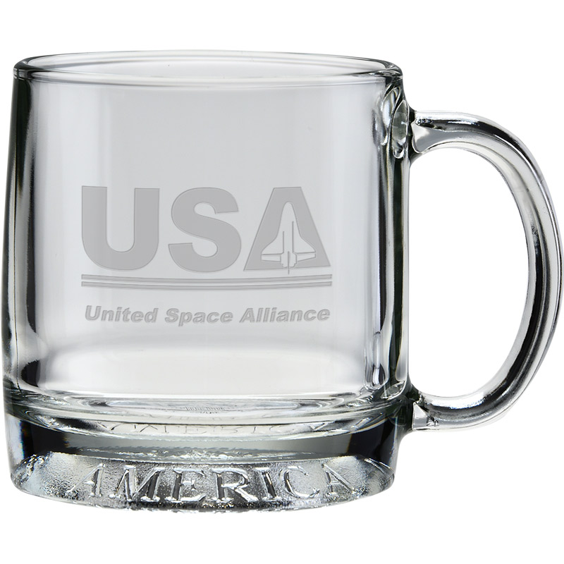 12 oz. Exclusive Mug America - Deep Etched