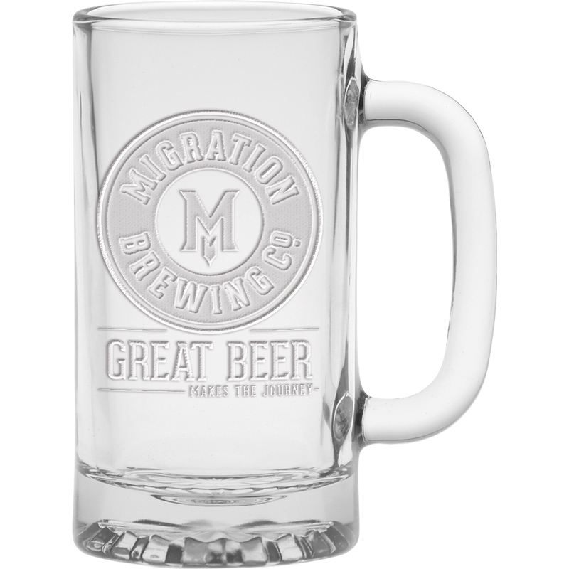 16 oz. Brewmaster Tankard - Deep Etched