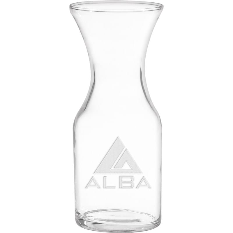1/2 Liter Decanter - Deep Etched