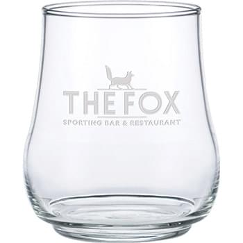 17 oz. Stemless Whiskey - Deep Etched