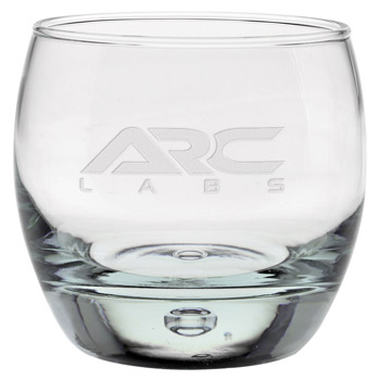 10.75 oz. Oxygen OTR Glass - Deep Etched