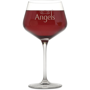 23 oz. Rona Burgundy - Deep Etched