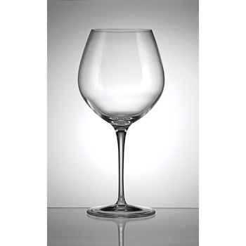 22.5 oz. Crescendo Bourgogna Wine Set of 4- Etched