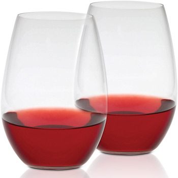 21.75 oz. Shiraz Stemless - Set of 2