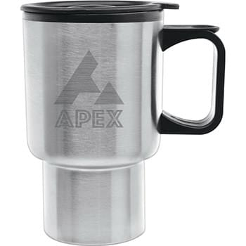 14 oz. Navigator Travel Mug - Laser Etched