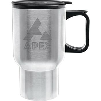 14 oz. Touring Travel Mug - Laser Etched