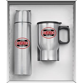 Two Piece Stainless Steel City Super Saver Set