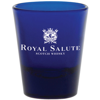 1.75 oz. Blue Shot Glass