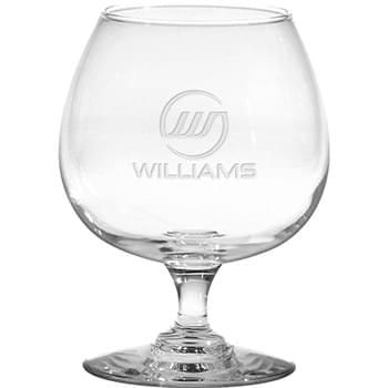 12 oz. Medium Brandy Snifter - Deep Etched