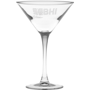 7.25 oz. Classic Stem Martini - Deep Etched