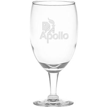16 oz. Iced Tea Glass - Deep Etched