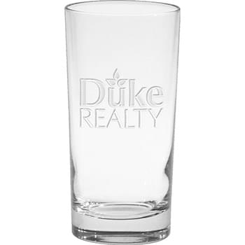 12 oz. Deluxe Beverage Glass - Deep Etched