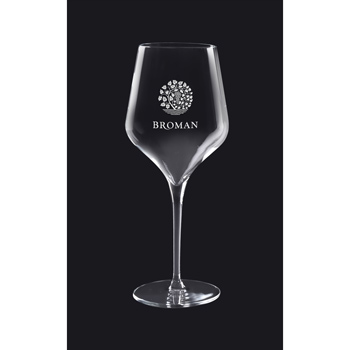 16 oz. Prism Collection White Wine - Deep Etched
