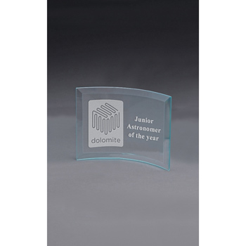 Medium Curved Prisma Award