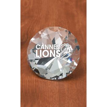 Medium Diamante Paperweight
