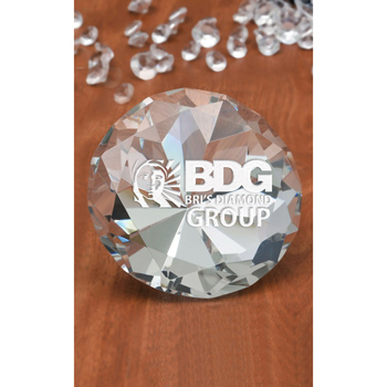 Large Diamante Paperweight
